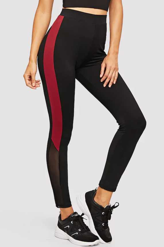f6913a42c6b59 Blinkin Colorblock Women Black, Red Tights - Buy Blinkin Colorblock Women  Black, Red Tights Online at Best Prices in India | Flipkart.com