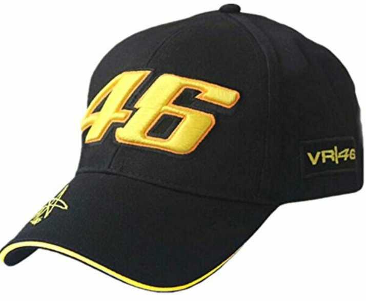 Valentino Rossi VR46 Racing Cap - Black Cap - Buy Valentino Rossi VR46 Racing Cap - Black Cap Online at Best Prices in India | Flipkart.com