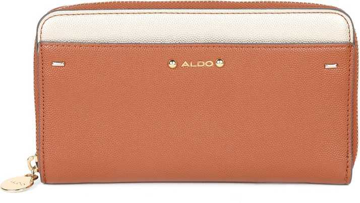 76f9ee0db60 Aldo Women Brown Fabric Wallet Brown - Price in India