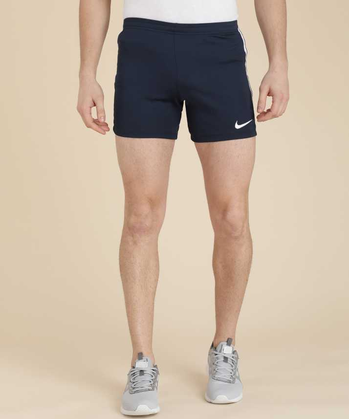 Nike Solid Men s Dark Blue Sports Shorts - Buy Nike Solid Men s Dark Blue  Sports Shorts Online at Best Prices in India  16409a770