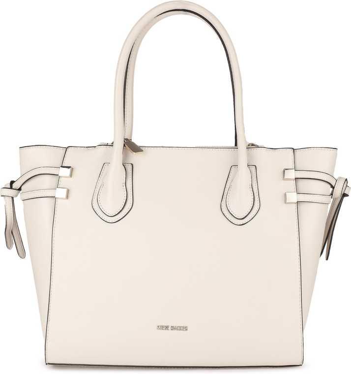 administración De vez en cuando botón  Buy Steve Madden Women White Shoulder Bag STONE Online @ Best Price in  India | Flipkart.com