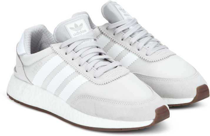 hot sale online 2ccb7 bfd4d ADIDAS ORIGINALS I-5923 Running Shoes For Men (White, Grey)