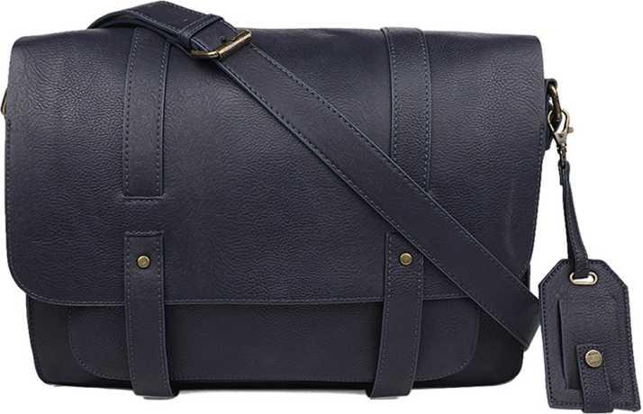 Aldo Men Blue Messenger Bag