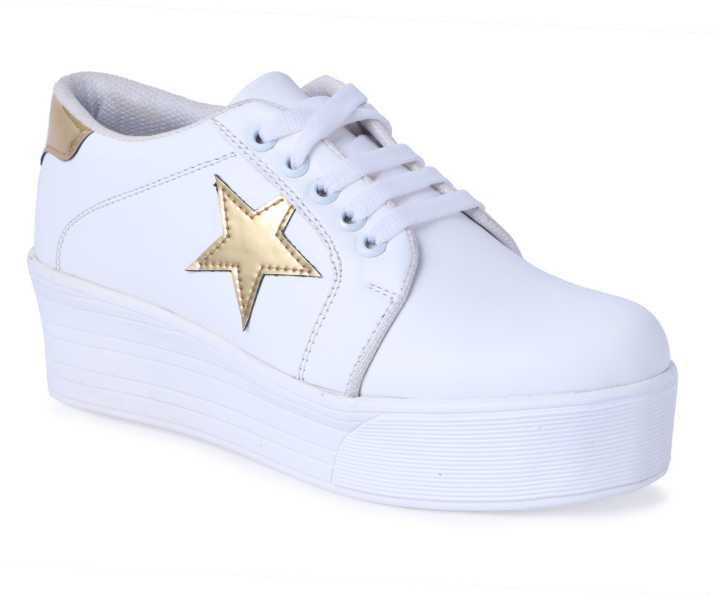 new style classic fit big discount Shoe Fellow Girls Casual Shoes White color Original. Sneakers For ...