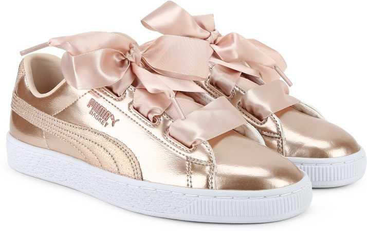 online store c03e3 58edc Puma Basket Heart Lunar Lux Jr Sneakers For Women