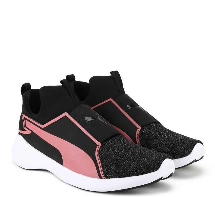 e36746c2a1d Puma Rebel Mid Gleam Jr Running Shoes For Women - Buy Puma Rebel Mid ...