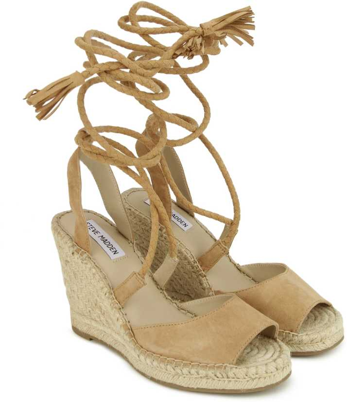1b4b291a0b865 Steve Madden Women Brown Wedges - Buy Steve Madden Women Brown Wedges Online  at Best Price - Shop Online for Footwears in India
