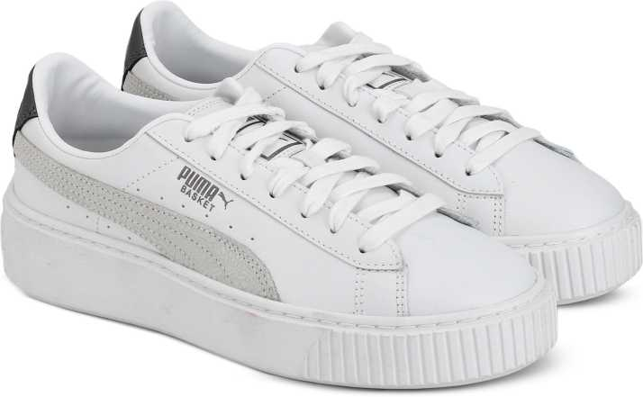 promo code af9a0 8d4d4 Puma Basket Platform Euphoria Metallic W Sneakers For Women
