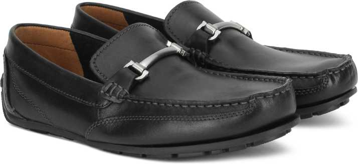 ab4a55398 Clarks Benero Brace Black Leather Loafers For Men - Buy Clarks ...