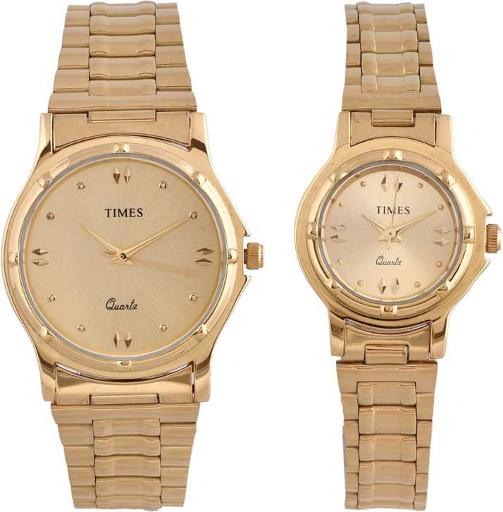 Wedding Gift Pair Watch Analog Watch