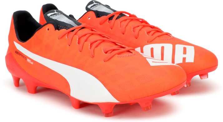 timeless design c3f94 bd038 Puma evoSPEED SL FG Football Shoes For Men (Orange)