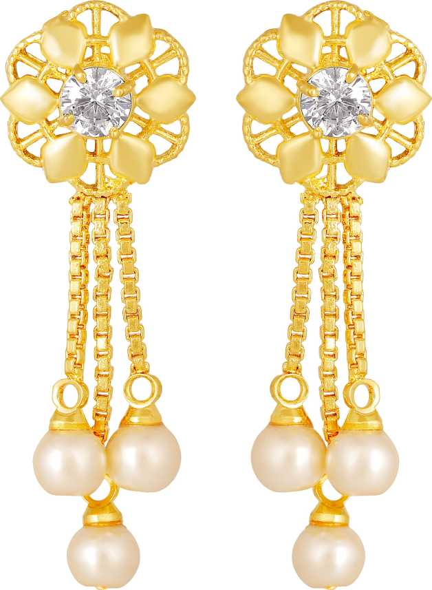 Flipkart Com Buy Mfj Wonderful 3 String Pearl Bead Brass 1 Gram