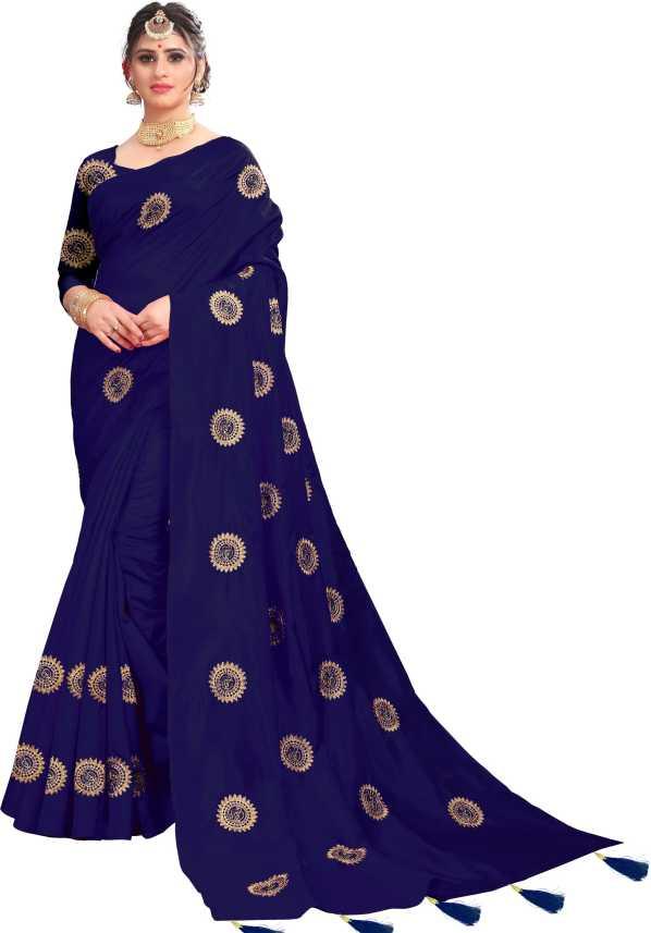 e889a1bc47c Trendz Style Embroidered Bollywood Cotton Silk Saree