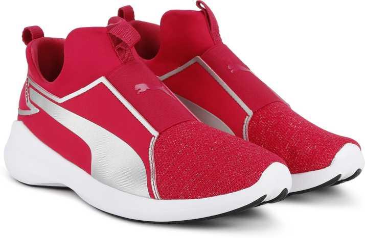 f072d3802aa Puma Puma Rebel Mid Gleam Jr Running Shoes For Women - Buy Puma Puma Rebel  Mid Gleam Jr Running Shoes For Women Online at Best Price - Shop Online for  ...