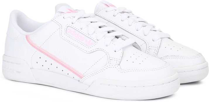 finest selection 4f16c dc021 ADIDAS ORIGINALS CONTINENTAL 80 W Sneakers For Women (White)
