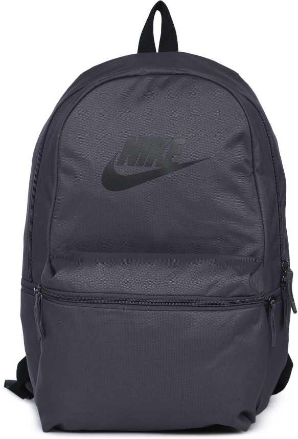 cbcc93dfa56f Nike NK HERITAGE B 26 L Backpack THUNDER GREY BLACK BLACK - Price in ...