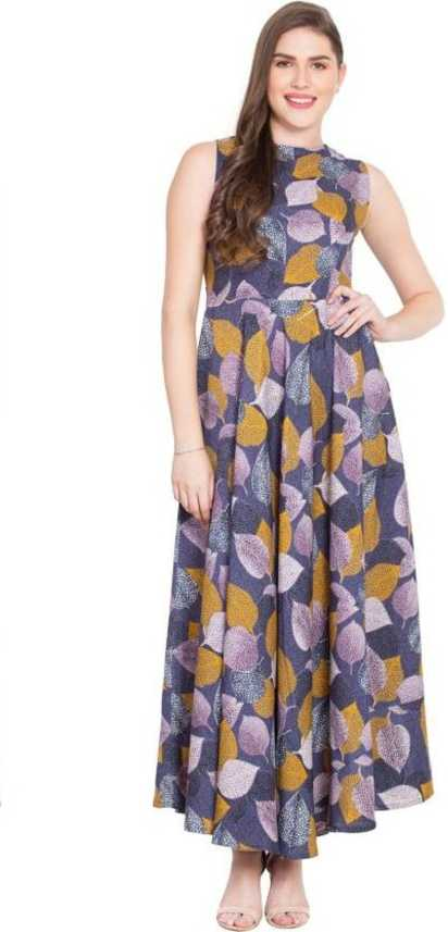 5fcfcdfac4d3 16 Always Women Fit and Flare Multicolor Dress - Buy 16 Always Women Fit  and Flare Multicolor Dress Online at Best Prices in India | Flipkart.com