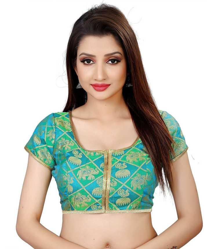 959597f623 Vega Fashion U-Neck Women's Stitched Blouse - Buy Vega Fashion U ...