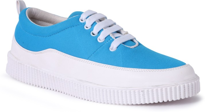 Shoe Mate Blue White Casual Shoes