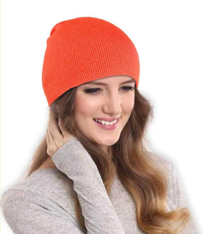 DRUNKEN Women s Winter Cap for Women Slouchy Soft Woollen Winter Orange  Beanie Caps Skull Cap - Buy DRUNKEN Women s Winter Cap for Women Slouchy  Soft ... 4d0f418b3