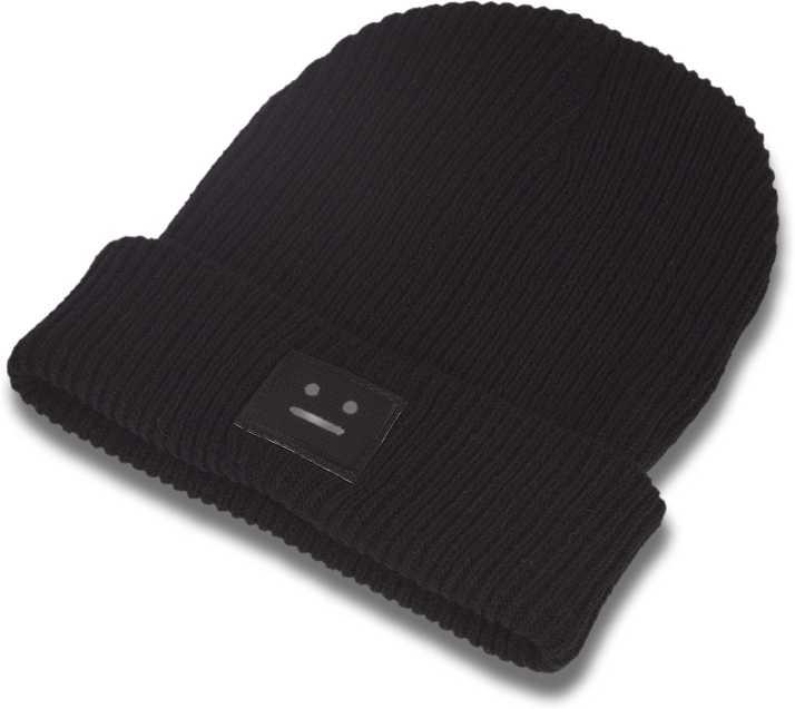 151847f91 DRUNKEN Women's Winter Caps for Women Woolen Smiley Plain Skull ...