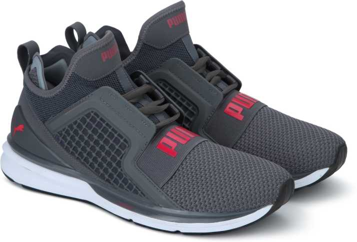 a41fed3ec5d6f3 Puma IGNITE Limitless Weave QUIET SHADE-Puma Running Shoes For Men (Grey)