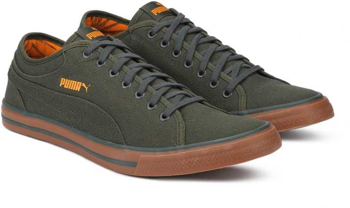 5e4a97153c3 Puma Yale Gum Solid IDP Forest Night-Sunflowe Canvas Shoes For Men - Buy  Puma Yale Gum Solid IDP Forest Night-Sunflowe Canvas Shoes For Men Online  at Best ...