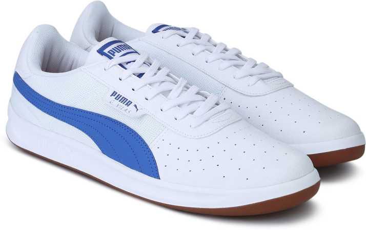 3199c0b5ebb0 Puma G. Vilas 2 Core IDP Puma White-Biscay Gr Walking Shoes For Men (White)