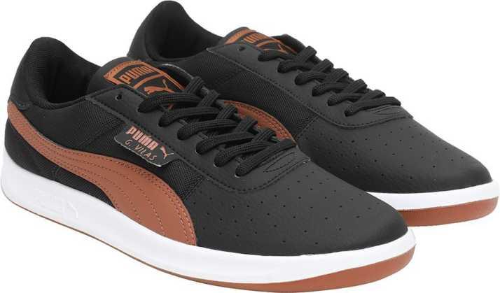 Puma G. Vilas 2 Core IDP Puma Black-Buckthorn Sneakers For Men - Buy ... 3c90119dda6b
