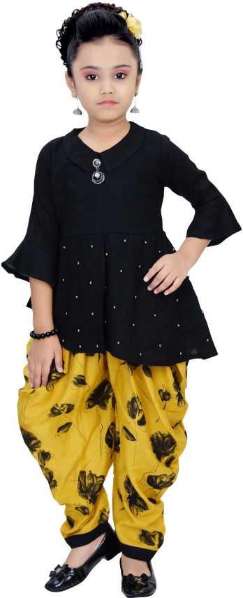ce69f3b64 Arshia Fashions Girls Party(Festive) Top Dhoti Pant