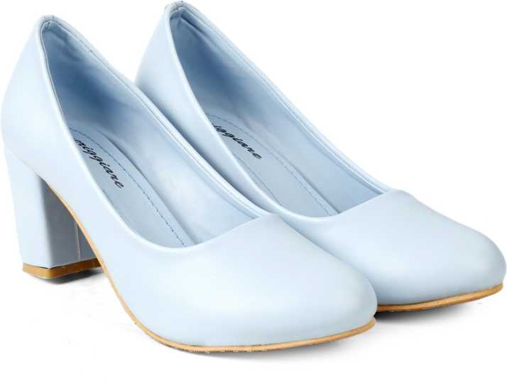 Meriggiare Women Sky Blue Heels