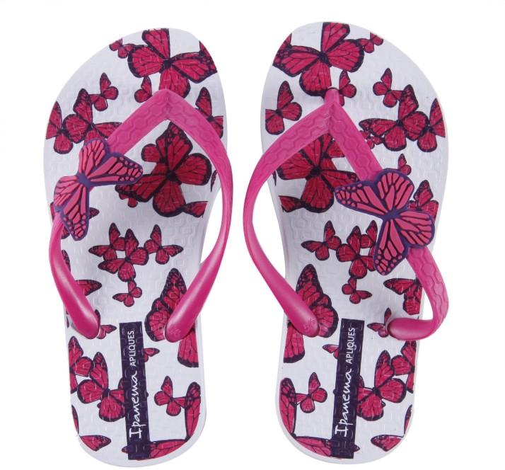Girls Slip On Slipper Flip Flop