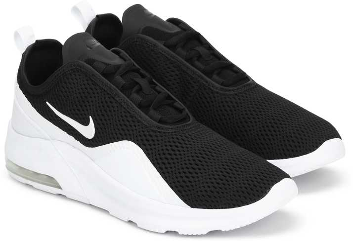 Nike Air Max Motion Low Premium Casual Running Shoes Black Mens