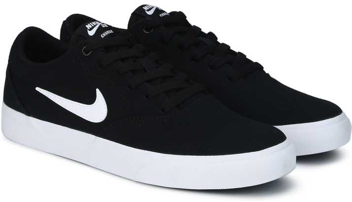 newest 4d1b8 07192 Nike SB CHARGE SLR TXT Sneakers For Men (Black)