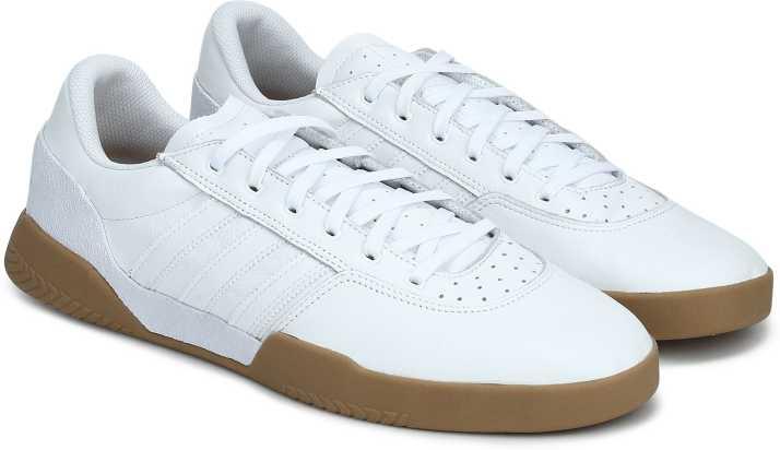 superior quality 0ecef fed2e ADIDAS ORIGINALS CITY CUP Sneakers For Men (White)