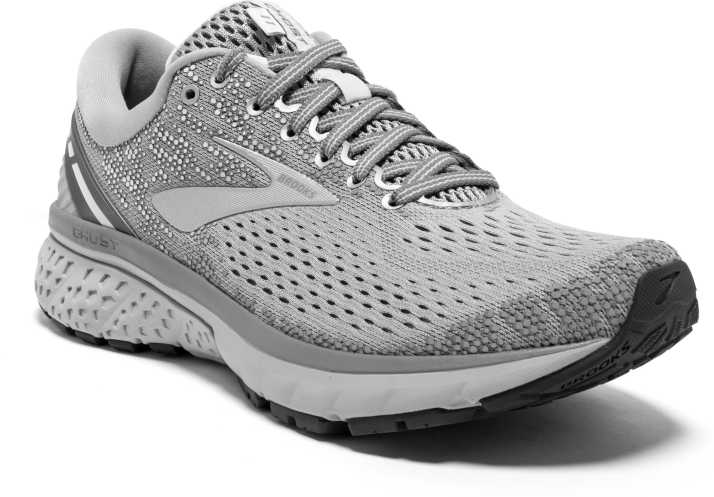 199332d4f09 Brooks Ghost 11 Synthetic Grey Running Shoes For Women - Buy Brooks Ghost 11  Synthetic Grey Running Shoes For Women Online at Best Price - Shop Online  for ...