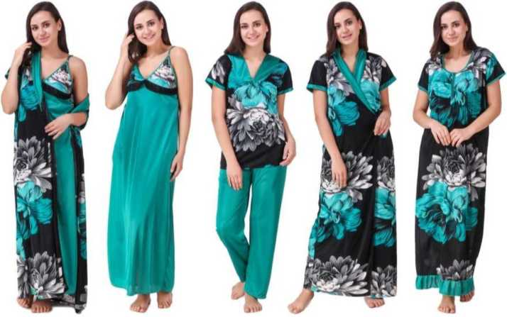 ShopyBucket Women Nighty Set - Buy ShopyBucket Women Nighty Set Online at  Best Prices in India  4ed544142