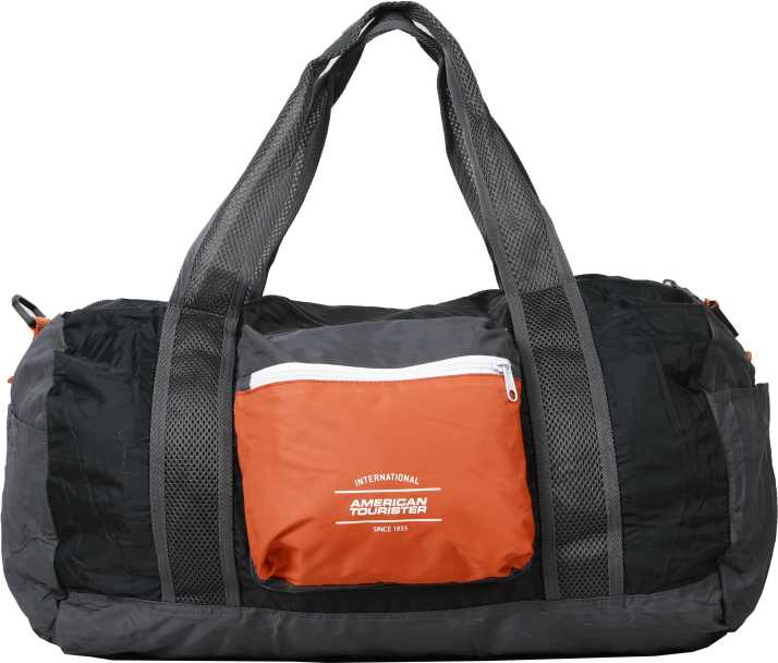 American Tourister (Expandable) Foldable Duffle (Burnt Orange) Travel  Duffel Bag (Orange) 46b3518ac8177