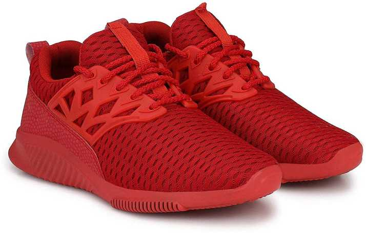 cdc19d204c8 Wonker Wonker deziner comfortale High Ankle Shoe Running Shoes For Men (Red)