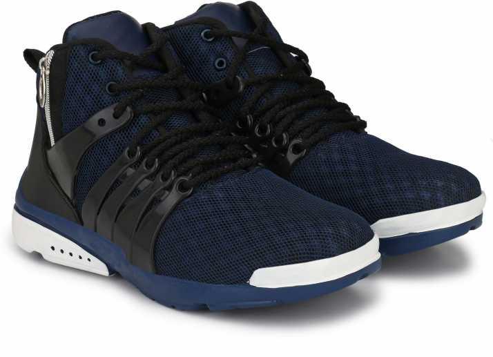 a1d636df6cb Wonker Wonker deziner comfortale High Ankle Shoe Running Shoes For Men  (Navy)
