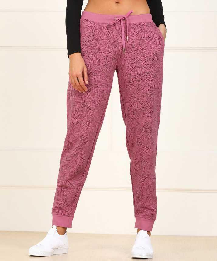 e0fbdc6207900b Van Heusen Printed Women's Pink Track Pants - Buy Van Heusen Printed Women's  Pink Track Pants Online at Best Prices in India | Flipkart.com
