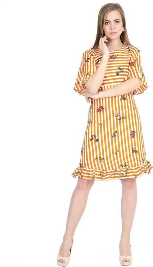 088fac3065173 Kannan Women Shirt Yellow Dress