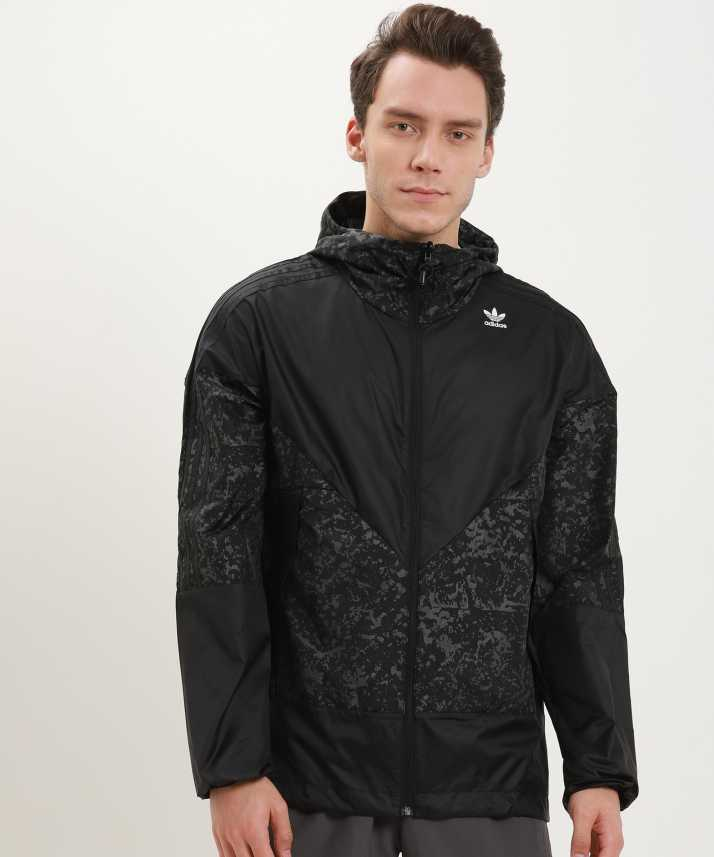 3f943ca0f6 ADIDAS ORIGINALS Full Sleeve Printed Men s Jacket - Buy ADIDAS ORIGINALS  Full Sleeve Printed Men s Jacket Online at Best Prices in India
