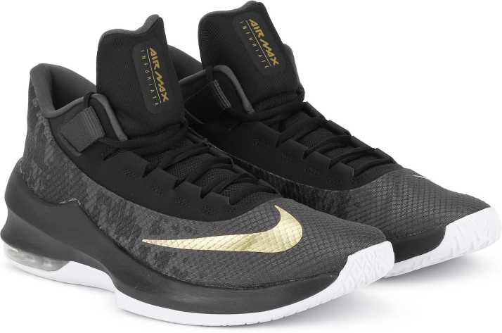 sports shoes b08c7 285d3 Nike AIR MAX INFUR SS 19 Basketball Shoes For Men - Buy Nike AIR MAX INFUR  SS 19 Basketball Shoes For Men Online at Best Price - Shop Online for  Footwears ...