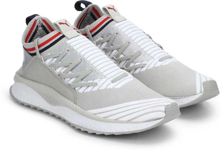 online retailer 5a893 cd823 Puma TSUGI Jun Sport Stripes Gray Violet-Puma Training   Gym Shoes For Men  (Grey)