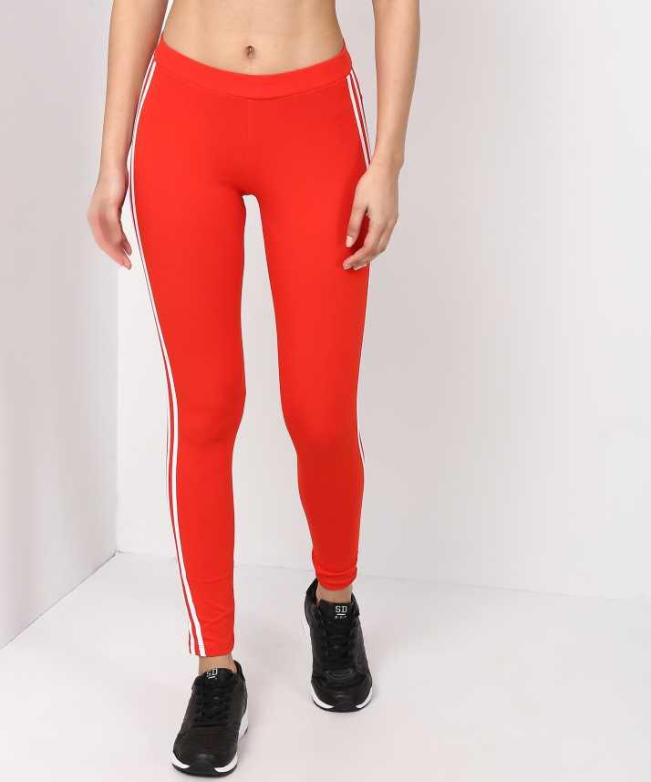 37b5b1a6736 ADIDAS ORIGINALS Solid Women's Orange Tights - Buy ADIDAS ORIGINALS Solid  Women's Orange Tights Online at Best Prices in India   Flipkart.com