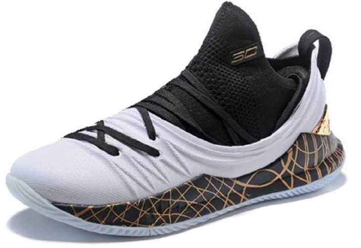 best authentic 3de54 057b6 UnderArmour UA Curry 5 White Basketball Shoes For Men - Buy ...