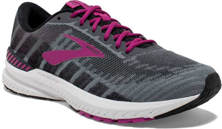 f30c6c8285a Brooks Ravenna 10 Synthetic Grey Running Shoes For Women - Buy ...