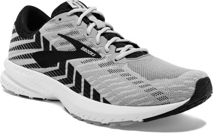 736fe20e0ea3a Brooks Launch 6 Synthetic Grey Running Shoes For Men - Buy Brooks ...