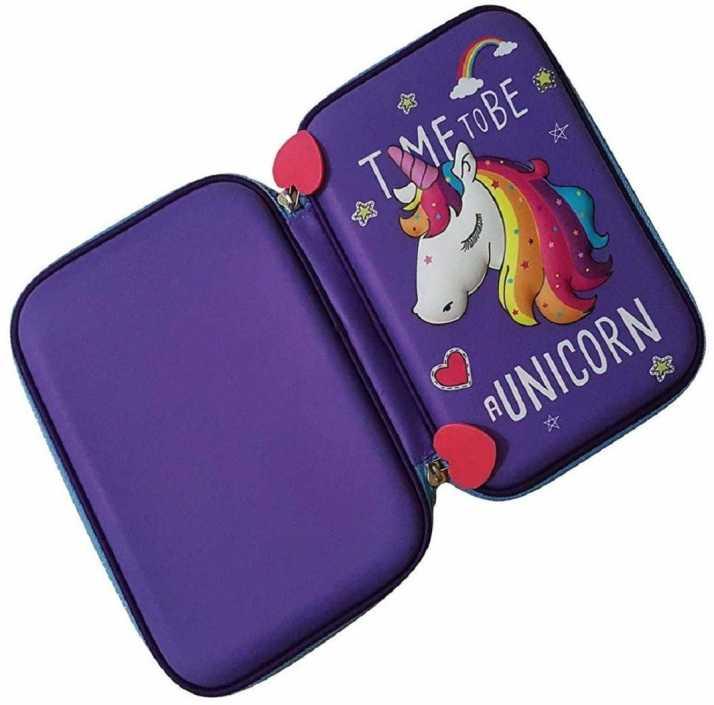 967a12f80ff5 VIHAAN Hardtop EVA pencil case/ Purple Pouch